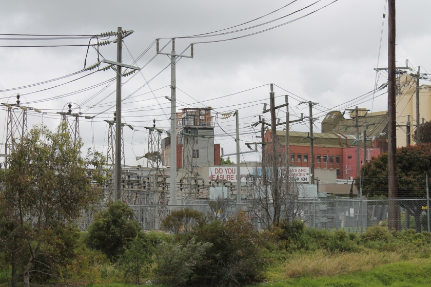 Electrical station on the creek